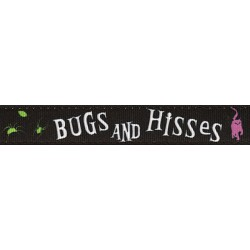 Bugs and Hisses Ribbon Double Sided Dog Leash