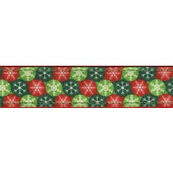 Christmas Wish Ribbon Leash