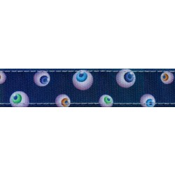 Spooky Eyes Ribbon Double Sided Dog Leash Limited Edition