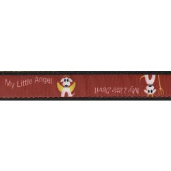 My Little Devil/Angel Ribbon Dog Leash Limited Edition