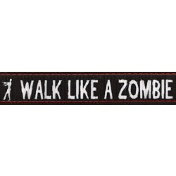 Walk Like a Zombie Ribbon Dog Leash Limited Edition
