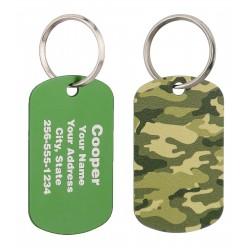 Military Dog Tag Camo Design