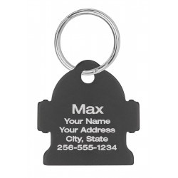 Pet ID Tags Fire Hydrant Design