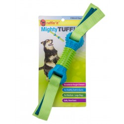 Westminster Ruffin' It™ Mighty Tuff! Ribbed Bone Tug Dog Toy
