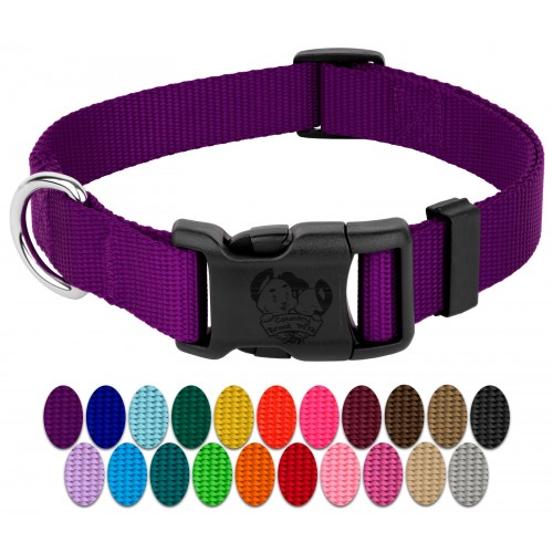Various Colors /& Lengths Country Brook Design® 5//8 Inch Nylon Dog Leash