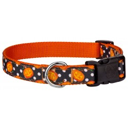 Deluxe Moonlight Grin Ribbon Dog Collar