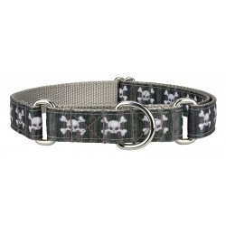 Nytemare Ribbon Martingale Dog Collar