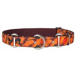 Thanksgiving Feast Ribbon Martingale Collar