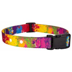 Paint Splatter Replacement Collar For Dog Fence Receivers