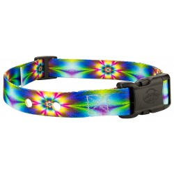 Tie Dye Flowers Replacement Collar For Dog Fence Receivers