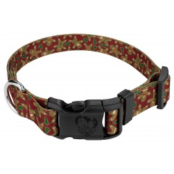 Deluxe Gingerbread Dog Collar