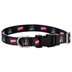 Deluxe I Love Mom Featherweight Dog Collar - Extra Small