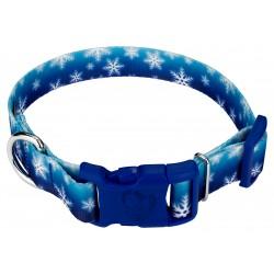 Deluxe Winter Wonderland Dog Collar