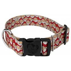 1 1/2 Inch Deluxe Where's Merry Dog Collar