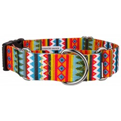 1 1/2 Inch Summer Pines Martingale With Deluxe Buckle
