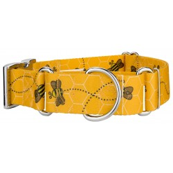 1 1/2 Inch Busy Bee Martingale With Premium Buckle