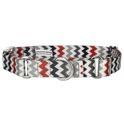 Sundry Chevrons Martingale with Premium Buckle