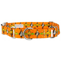 When Pumpkins Fly Martingale with Premium Buckle