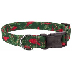 Deluxe Red Cardinal Designer Dog Collar