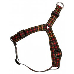 Buffalo Plaid Step-In Dog Harness