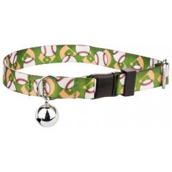 Baseball Featherweight Cat Collar
