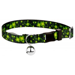 Clovers In The Wind Cat Collar
