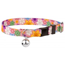 May Flowers Cat Collar