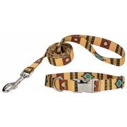Native Arizona Premium Dog Collar & Leash