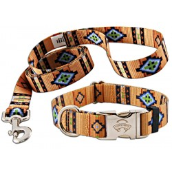 Native Southwestern Premium Collar & Leash