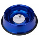 Platinum Pets® 24oz Stainless Steel Sapphire Blue Dog Bowl