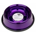 Platinum Pets® 24oz Stainless Steel Electric Purple Dog Bowl