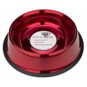 Platinum Pets® 24oz Stainless Steel Candy Apple Red Dog Bowl