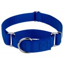 Royal Blue Martingale Heavyduty Nylon Dog Collar