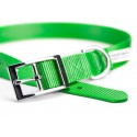 Hot Green Nylon Premium Traditional Dog Collar (Secondary)