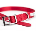 Red Nylon Premium Traditional Dog Collar (Secondary)