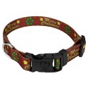 Deluxe Merry Christmas Dog Collar