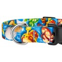 Deluxe Pool Party Dog Collar - Closeup