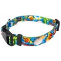 Deluxe Pool Party Dog Collar - Secondary Angle
