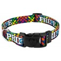 Deluxe Pride and Peace Dog Collar