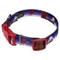 Deluxe Winter Cardinal Dog Collar - Secondary Angle