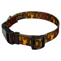 Deluxe Whitetail Buck Dog Collar - Secondary Angle