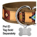1 1/2 Inch Native Arizona Exclusive Martingale Dog Collar - Closeup