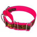 1 1/2 Inch Southern Forest Camo Exclusive Martingale Dog Collar - Secondary Angle