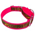 1 1/2 Inch Southern Forest Camo Exclusive Martingale Dog Collar - Third Angle