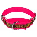 1 1/2 Inch Southern Forest Camo Exclusive Martingale Dog Collar