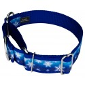 1 1/2 Inch Winter Wonderland Exclusive Martingale Dog Collar - Secondary Angle