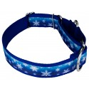 1 1/2 Inch Winter Wonderland Exclusive Martingale Dog Collar - Third Angle