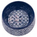 TarHong Indigo Canyon Clay Melamine Pet Bowl, Medium