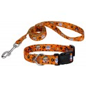 Country Brook Petz® Frightening Furbabies Deluxe Dog Collar & Leash