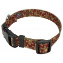 Gingerbread Deluxe Dog Collar & Leash - Secondary Angle